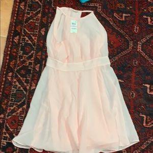 Creamy berry dress